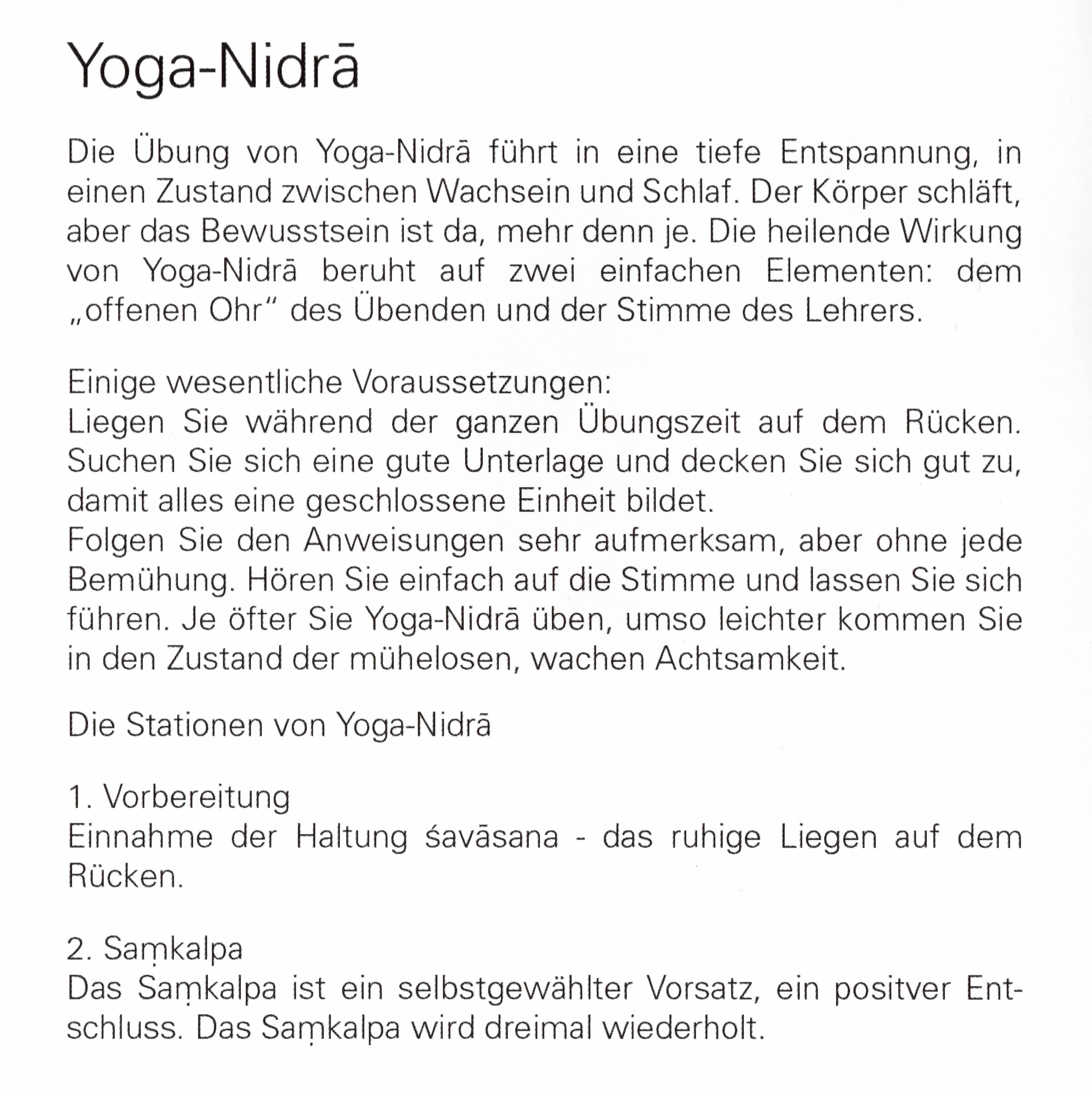 Yoga Nidra Raja Verlag